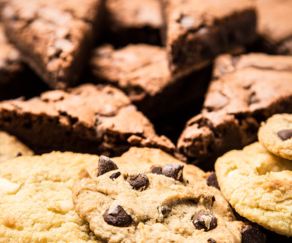 Cookie & Brownie Dessert Tray