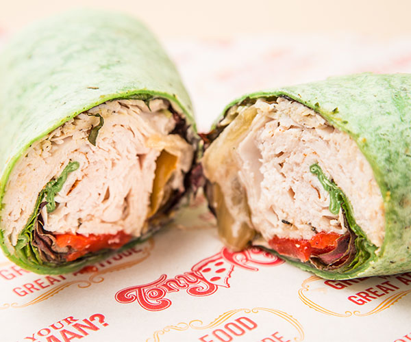 Fiesta Turkey Wrap