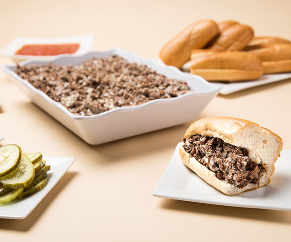 Make-Your-Own Cheesesteak Party Tray